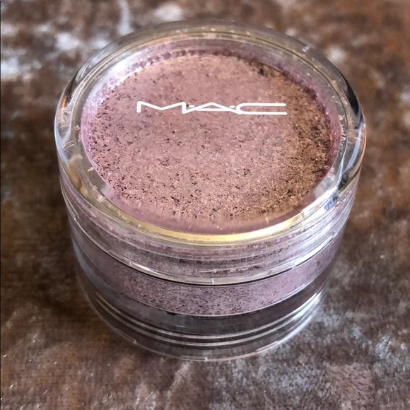 mac glitter pigment samples